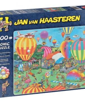 Het Ballon festival -Jan Van Haasteren - Puzzel Jumbo 1000 stuks