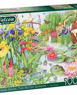 Falcon - Flower Show : The water garden - puzzel 1000 stuks
