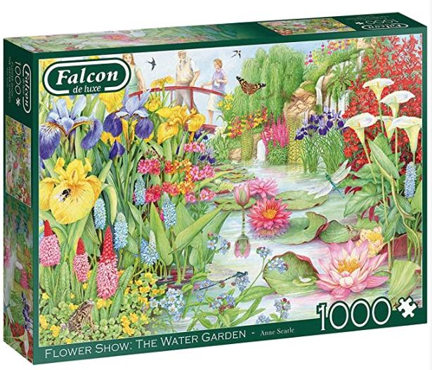 Falcon – Flower Show : The water garden – puzzel 1000 stuks