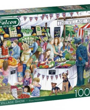 The Village show - Falcon - Jumbo puzzel 1000 stuks