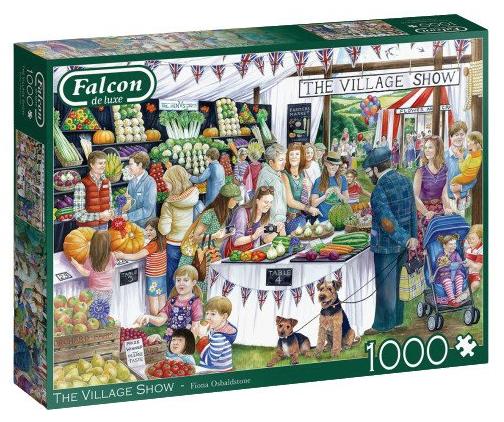 The Village show – Falcon – Jumbo puzzel 1000 stuks