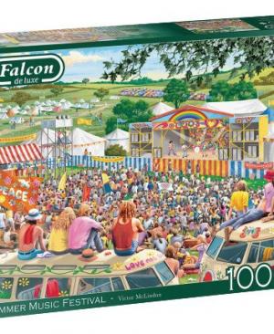 Summer Music Festival - Falcon - Puzzel Jumbo 1000 stuks
