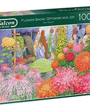 Flower Show : Optimism and Joy - Falcon - Puzzel 1000 stuks