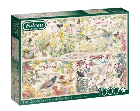 The Country Diary 4 Seasons – Falcon – Puzzel Jumbo 1000 stuks