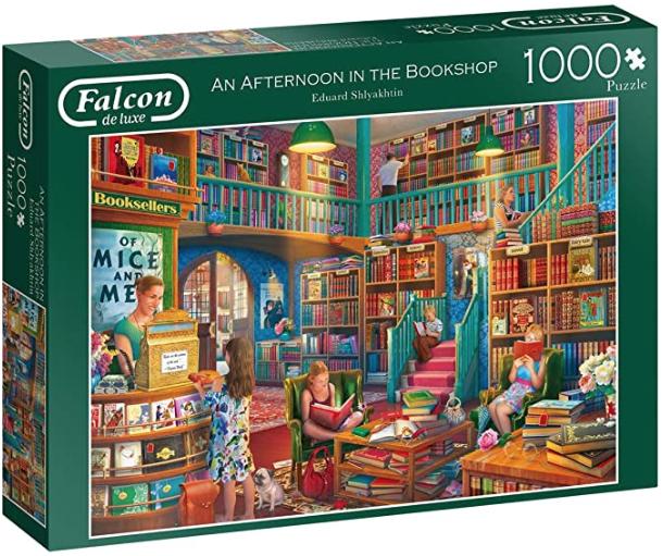 An Afternoon in The Bookshop – Falcon – Puzzel Jumbo 1000 stuks