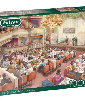 The Bingo Hall - Falcon - Puzzel Jumbo 1000 stuks