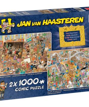 Een dagje naar museum - 20032 Jumbo - Puzzel 2 x 1000 stuks
