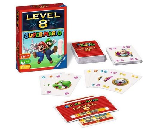 Ravensburger  Mario Level 8 – kaartspel