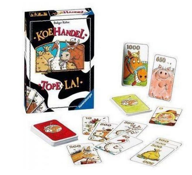 Ravensburger Koehandel – Kaartspel