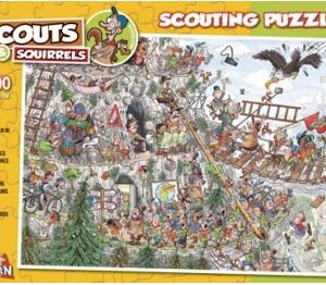 Scouts de bergen in 1000 stuks nr875 Puzzelman