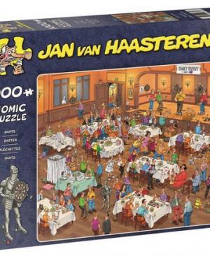 Jan Van Haasteren - Darten - 1000 stuks
