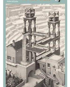 Puzzel – Waterval, M.C. Escher 1000 stukjes