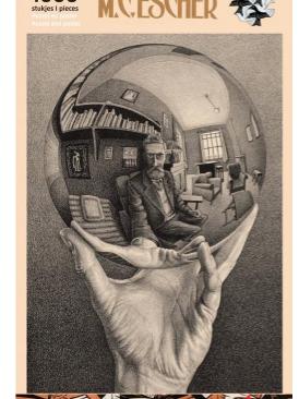 M.C. Escher Self Portrait-puzzel 1000 stuks