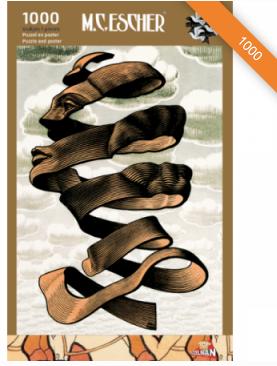 Escher Omhulsel - puzzel 1000 stuks