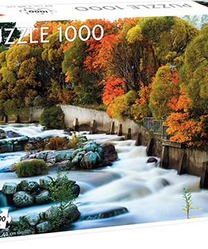 River Vantaa, Finland - Puzzel Tactic 1000 stuks - 56761