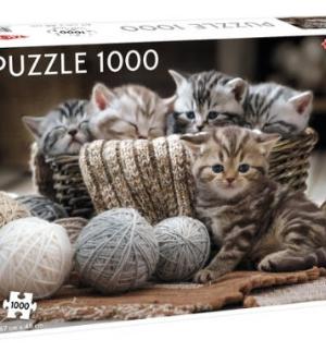 Kittens - Puzzel 1000 stuks - Tactic - 56803