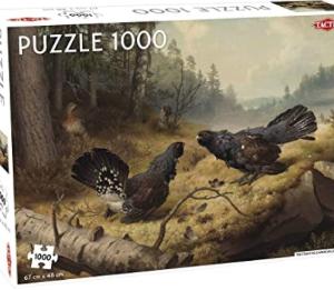 Fighting Capercaillies - puzzel 1000 stuks - Tactic 55245