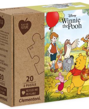 Winnie The Pooh - 2x20 stukjes - Clementoni - 24772