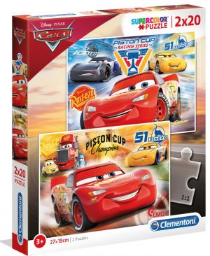 Disney Cars - 2x20 stukjes - Clementoni 07027