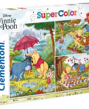 Winnie the Pooh - Clementoni 25232 - 3 x 48 stuks