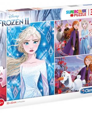 Frozen 2 - Clementoni 25240 - puzzel 3 x 48 stuks