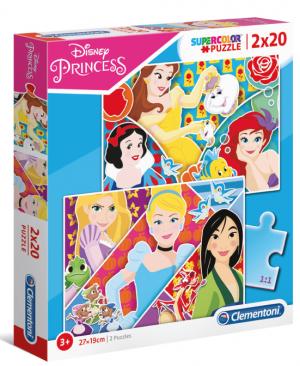 Disney Princess - Clementoni 24766 - puzzel 2 x 20 stuks
