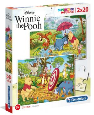Winnie the Pooh - Clementoni 24516 - puzzel 2 x 20 stuks