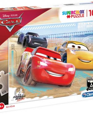 Cars - Clementoni 23727 - puzzel 104 stuks