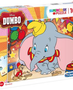 Dumbo - Clementoni 23728 - puzzel 104 stuks