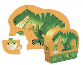 Just Hatched - puzzel 12 stuks - 2 + jaar - Crocodile Creek 3841185