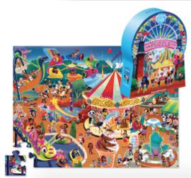 Day at the Fair - puzzel 48 stuks - Crocodile Creek 3840637