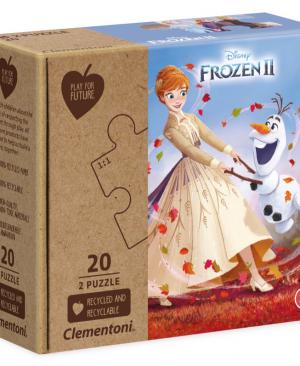 Disney Frozen 2 - puzzel 2 x 20 stuks - Clementoni 24773