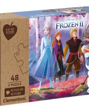 Disney Frozen 2 -puzzel 3 x 48 - Clementoni 25255