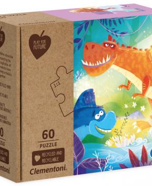 Dino - puzzel 60 stuks - Clementoni 26998