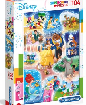 Disney Dance time - puzzel 104 stuks - Clementoni 27289