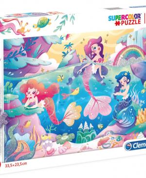 Glitter Mermeids - puzzel 104 stuks - Clementoni 20149