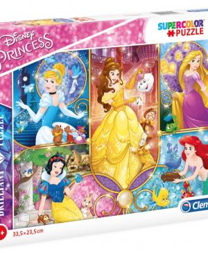 Brilliant Princess - puzzel 104 stuks - + 6 jaar - Clementoni 20140