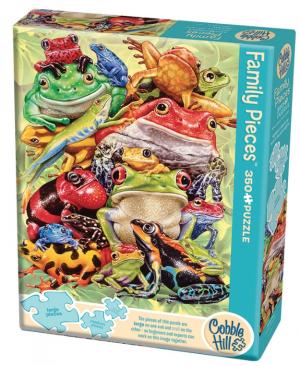 Frog Pile - puzzel 350 stuks - Cobble Hill 54632