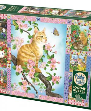 Random Cut - puzzel 1000 stuks - Cobble Hill 80272