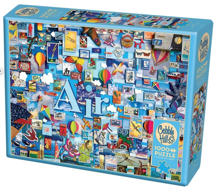 Air – puzzel 1000 stuks – Cobble Hill 80170