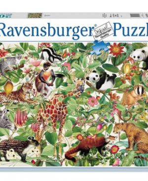 Jungle - Puzzel 2000 stuks - Ravensburger 16824