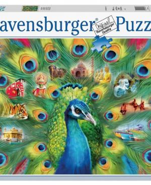 Land van de Pauw - puzzel 2000 stuks - Ravensburger 16567