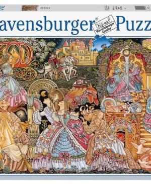 Assepoester - puzzel 2000 stuks - Ravensburger 16568