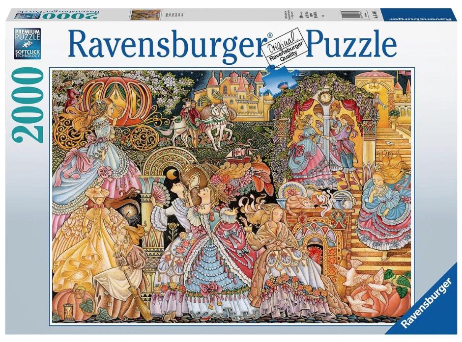 Assepoester – puzzel 2000 stuks – Ravensburger 16568
