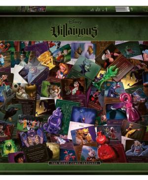 All Villainous The worst comes Prepared - puzzel 2000 stuks- Ravensburger 16506