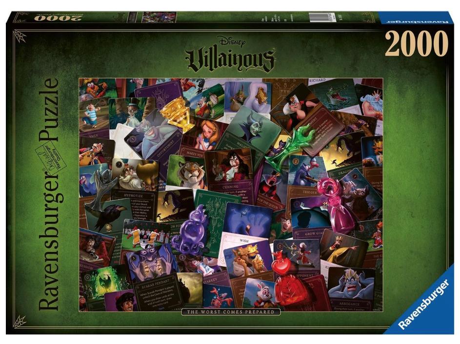 All Villainous The worst comes Prepared – puzzel 2000 stuks- Ravensburger 16506