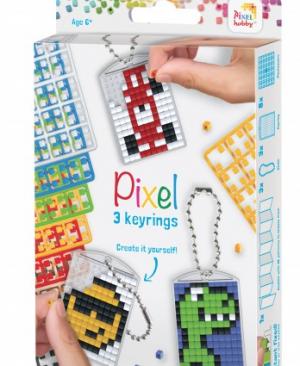 Sleutelhanger set - Stoer - pixelhobby - pixelcraft