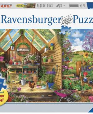 Blik in het tuinhuis - puzzel 300 stuks - Ravensburger 167876