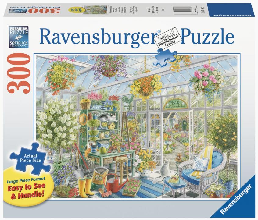 Bloeiende tuinkas – puzzel 300 stuks – Ravensburger 167869