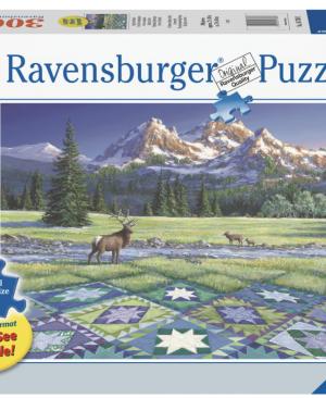 Quilt met hert - puzzel 300 stuks - Ravensburger 167883